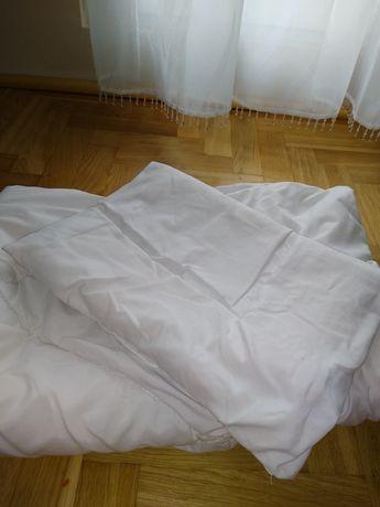 Kołdra i poduszka do łóżeczka 120x60
