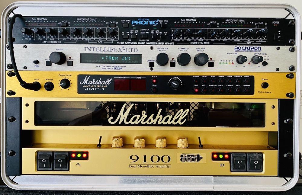 Amp Marshall 9100 + pre amp JMP-1 Batalha - imagem 1
