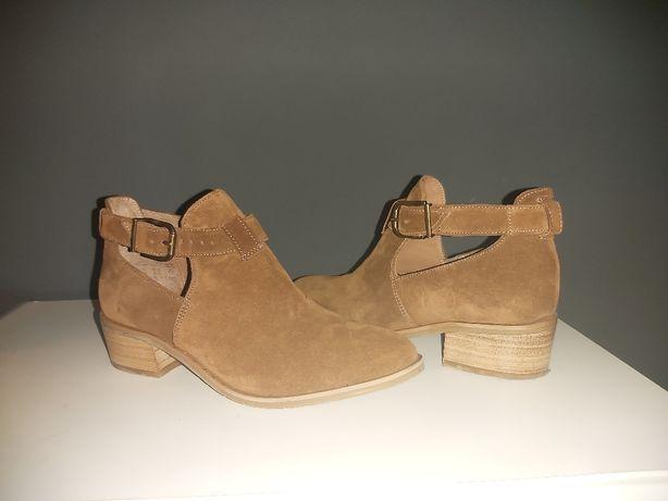 Buty zamszowe nowe Ryłko