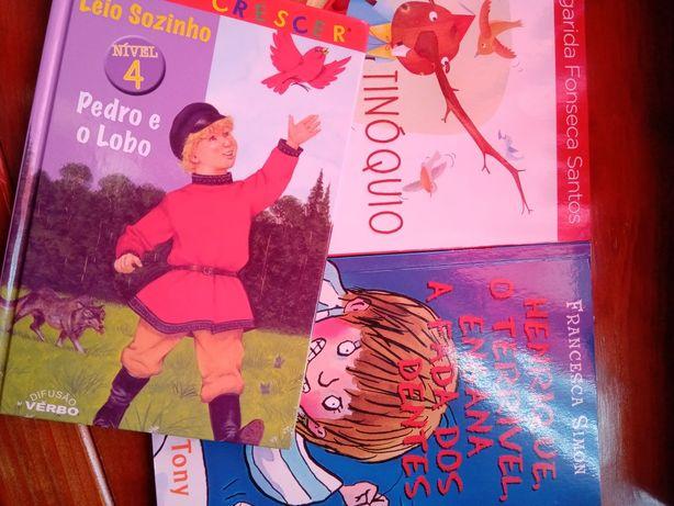Livros para pequenos leitores