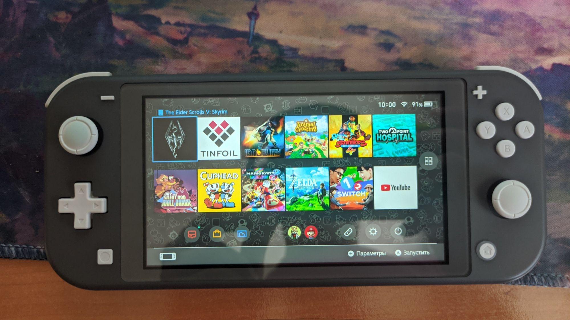 Nintendo Switch Lite прошитый, SX Lite, игры бесплатно