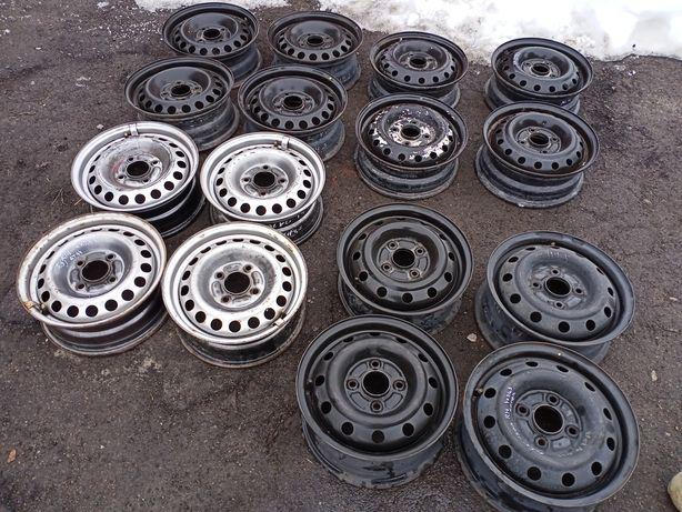 Металеві диски r14 4/114,3 5 5,5j et44 et50