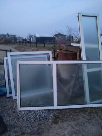 Okna okno plastikowe drzwi balkonowe 109x218
