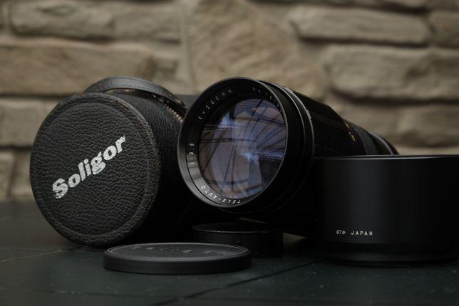 Soligor 200mm f3.5/Minolta MD (Sony, Fuji, Panasonic)