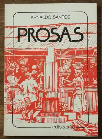 prosas, arnaldo santos, edições 70