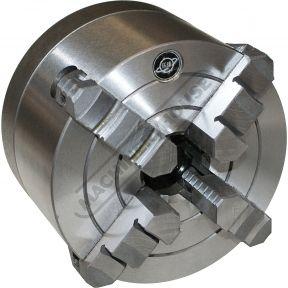 Патрон токарный 4-х кулачковый с независимыми кулачками ф125 мм