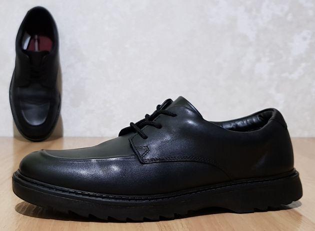 """Фирменные кожаные туфли Clarks """"Asher Grove 2018"""" 39,5р/25,5см"""