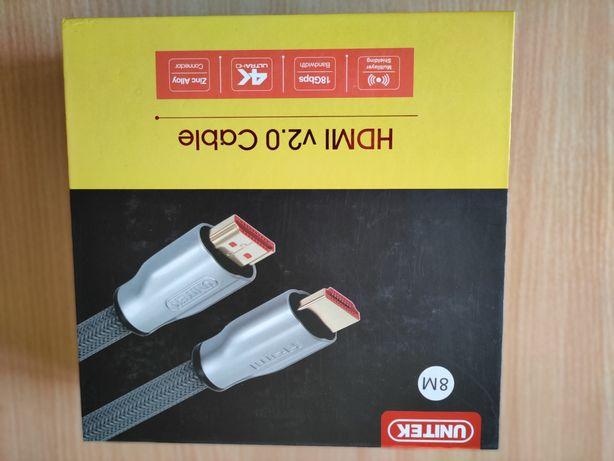 Unitek Kabel HDMI 2.0 - 8m
