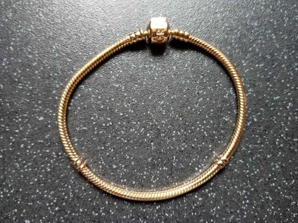 Zamienię złotą bransoletkę Pandora
