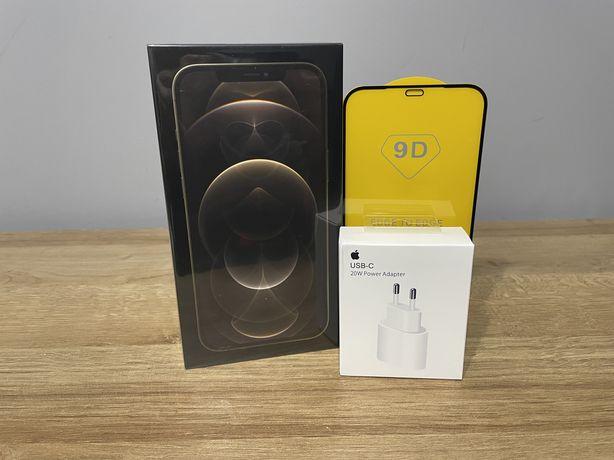 Nowy iPhone 12 Pro Max 256GB Gold/Złoty + ładowarka (zamiana)