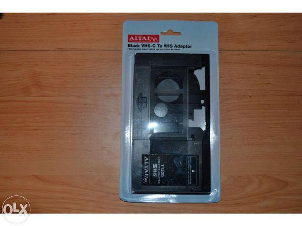 Cassete Adaptador VHS-C para VHS Normal - Conversor