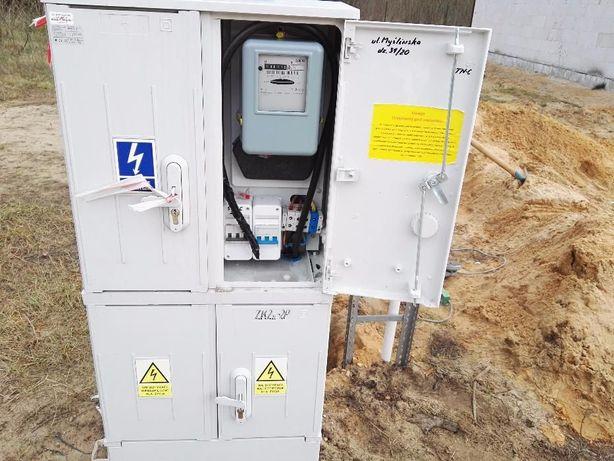 ELEKTRYK , Usługi Elektryczne, pomiary, odbiory, instalacje, Przyłącze