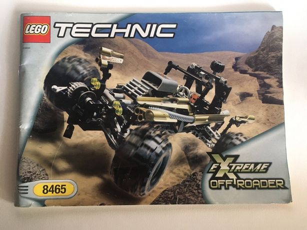 Инструкция Lego Technic #8465 Extreme Off Roader 2001 год
