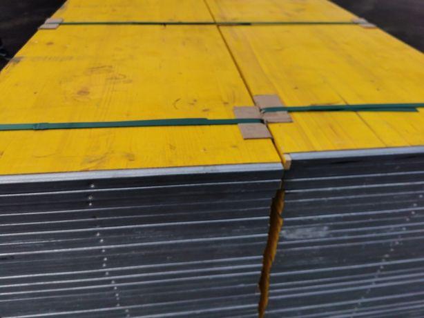 płyta trójwarstwowa okuta żółta szalunkowa sklejka szalunki płyta