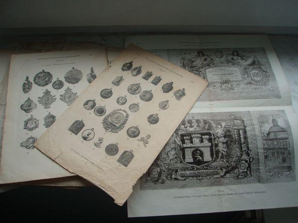 Karty tytułowe i spisy WNA + tablice 1910