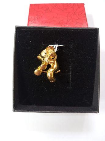 Złoty wisiorek złoto 585 słoń