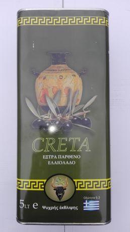 Grecka Oliwa z Oliwek EXTRA VIRGIN 0.3% - KRETA CRETA 5l
