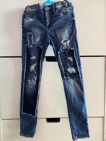 Spodnie jeansowe LMTD ZALANDO 152 12 lat