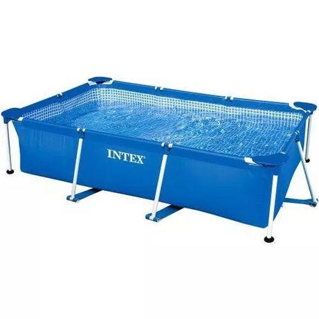 Каркасный бассейн басейн 260х160х65 см Intex