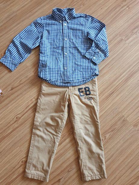 Рубашка H&M+брючки, 4-5 лет
