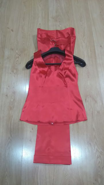 Damski kostium garnitur spodnium rozm. M/ L
