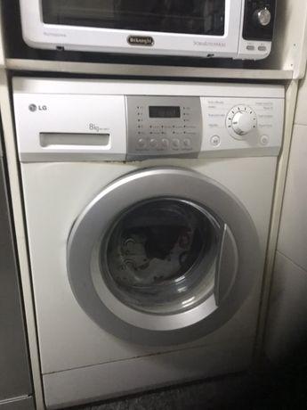 Maquina lavar roupa LG 8 Kg