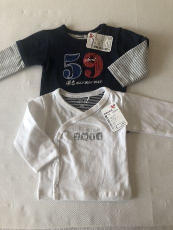 Prenatal  bluzki koszulki r. 56 62 kpl holandia