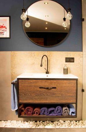 Szafka wisząca łazienkowa pod umywalkę Loft Industrial