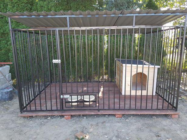 Kojec Klatka Zagroda Buda dla psa 2mx2m Montaż solidny gratis