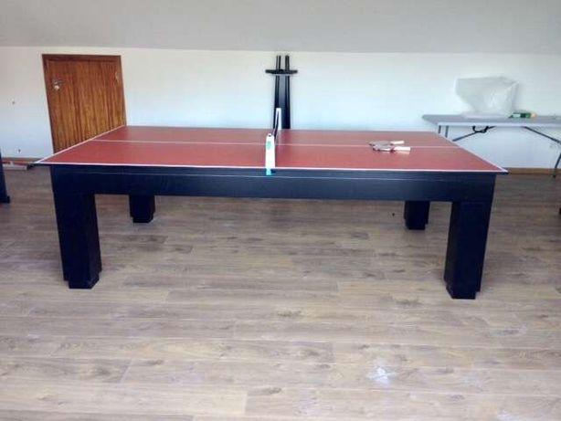 Bilhares europa fabricante mod Queen oferta tampo jantar e Ping pong