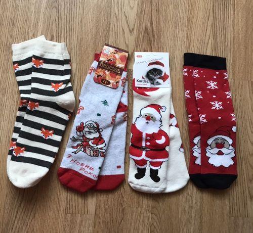 Новорічні носочки