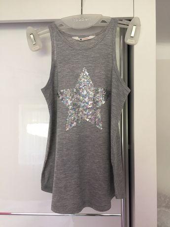 Koszulka/bluzeczka na ramionczka - dziewczęca,bluzka,koszula H&M #1