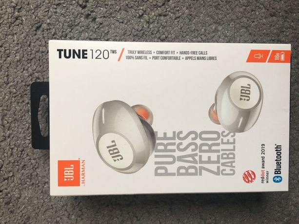 Słuchawki bezprzewodowe JBL douszne Tune 120 tws