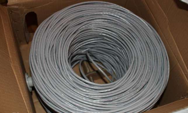Продам кабель витая пара UTP 4 пары кат.5е вну