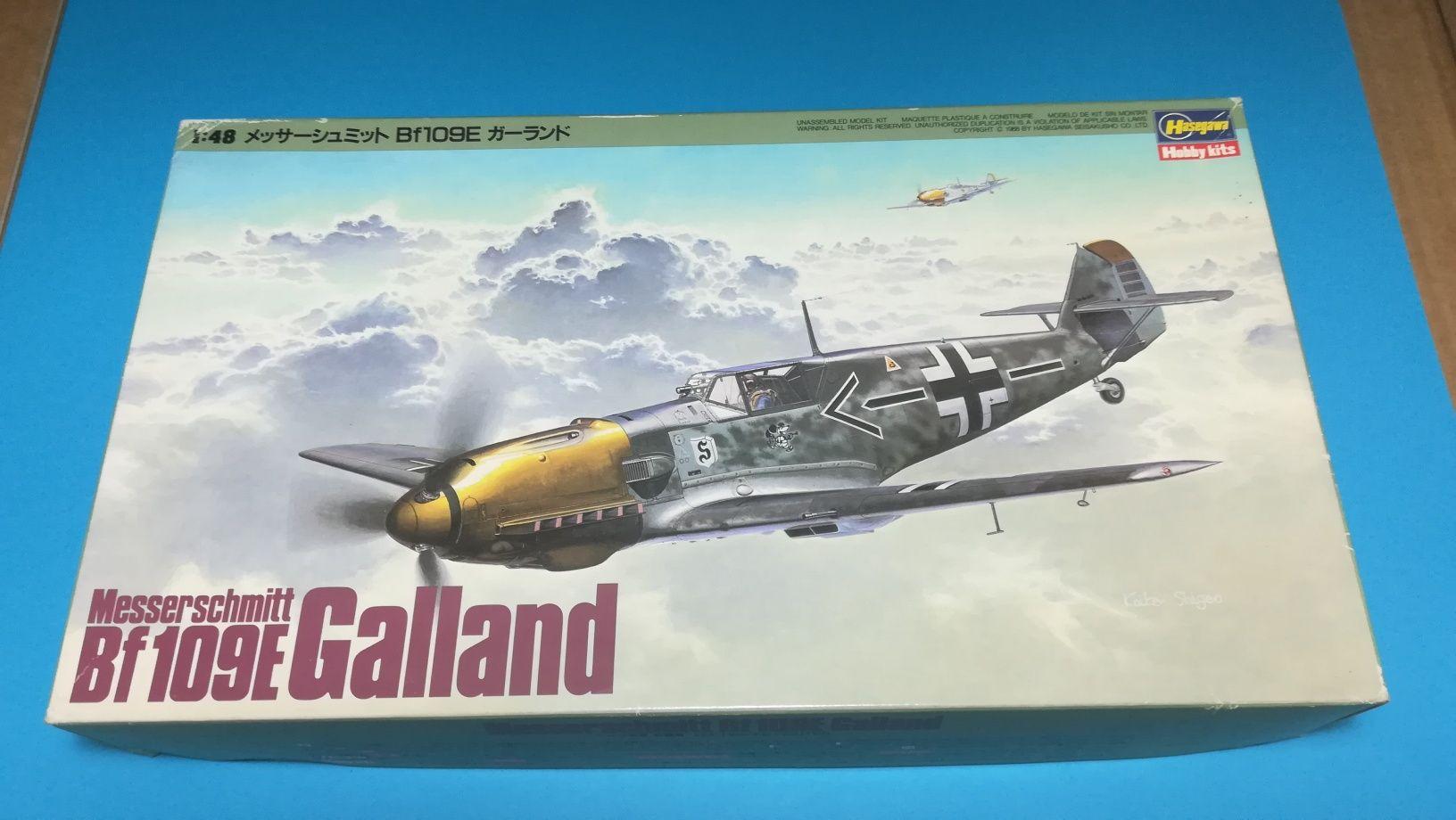 """1/48 Messerschmitt Bf109 E """"Galland"""""""