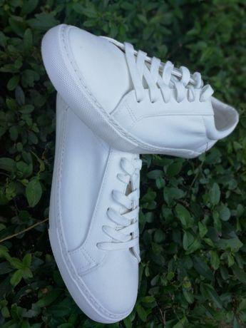 Białe buty męskie rozmiar EU 46 / 45 NOWE 29 - 29.5 cm