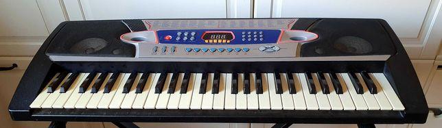 Keyboard do nauki, gniazdo na Mikrofon, duze klawisze