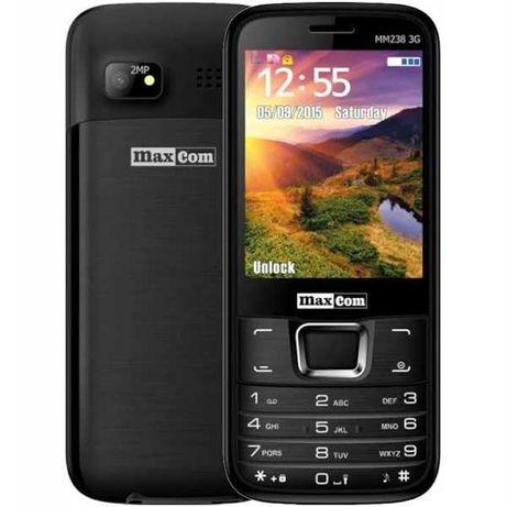 Telefon komórkowy Maxcom MM 238 czarny 3G