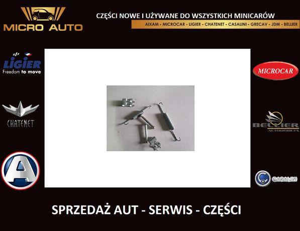 Zestaw naprawczy hamulca tył Aixam Microcar Ligier Chatenet JDM Grecav