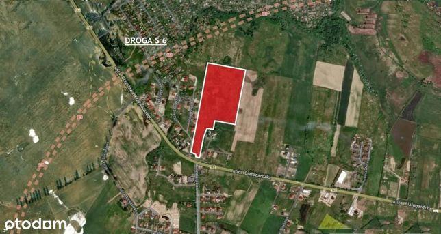 Działka, 77 700 m², Kołobrzeg