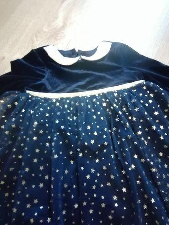 Przepiękna tiulowa sukienka na święta dla dziewczynki Smyk
