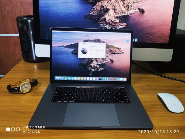 MacBook Pro 15 2019 i9-2.4GHz 8core/32gb/SSD 1 TB/AMD 4gb A1990 ZOWW