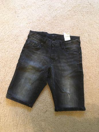 Spodenki jeansowe krótkie spodnie męskie rozmiar S
