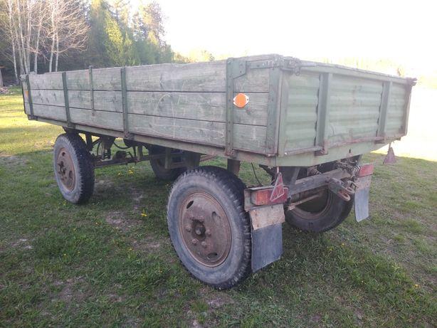 Przyczepa rolnicza Autosan D35 Sztywna nie wywrotka D44 D47