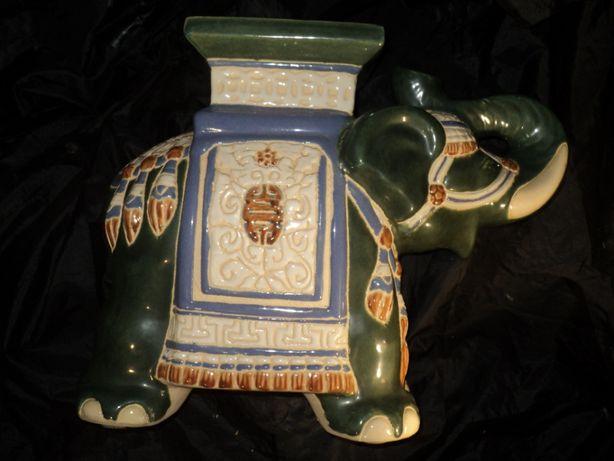 Большой слон статуэтка подставка фарфор старина раритет эксклюзив анти