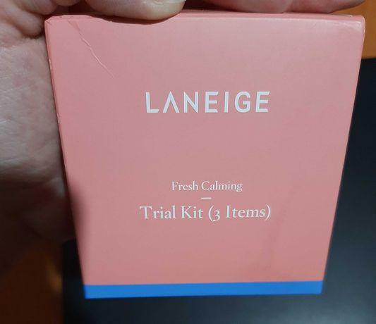 Laneige Fresh Calming Trial Kit набор для чувствительной кожи лица