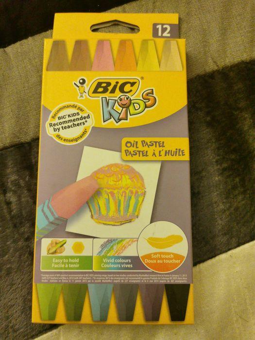 Vende-se lápis de cera flexíveis Bic Kids oil pastel. Embalagem nova Vila Franca de Xira - imagem 1