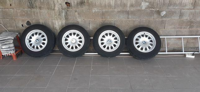 Jantes com pneus 15 Bmw 5x120