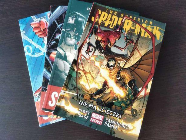 Komiks The Superior Spider-Man zeszyty 1-4