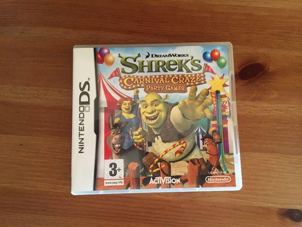 Shrek's Carnival Craze Party Games - Jogo Nintendo DS